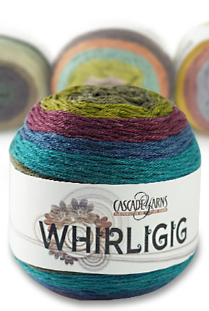 Cascade Yarns - Whirligig cake of yarn