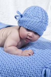 fcf631c3d13 Cherub Aran Baby Bloom Beanie DK199 FREE Download