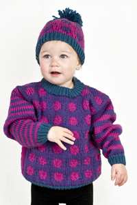 7b5d06459 Cascade Yarns® - Knitted Sweater Patterns For Kids