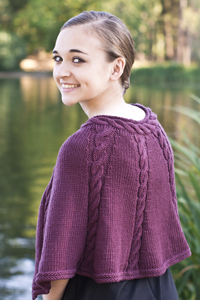 Cascade Yarns free knitting  pattern A188 Capelet