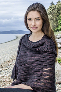 Cascade Yarns free knitting  pattern A300 Simply Shimmering Stole
