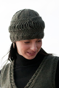 Cascade yarns knitted hats patterns chunky fair isle pom pom hat c279 dt1010fo