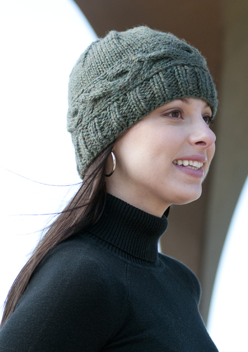 Cabled Band Hat