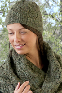 6a544a8ce Baby Alpaca Chunky Moebius and Matching Hat C220 FREE Download