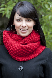 Cascade Yarns | Free Pacific Chunky Pattern C231 Daisy Cowl