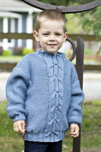 Cascade Yarns | Free Pacific Chunky Pattern C278 Taking Flight Kids Sweater