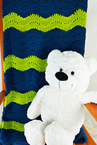 Cascade Yarns | Free Pacific Chunky Pattern C304 Lazy Sunday Lap Blanket