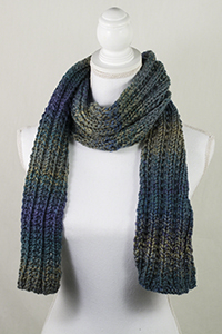 Cascade Yarns | Free Pacific Chunky Wave Pattern C306 Take the Train Scarf