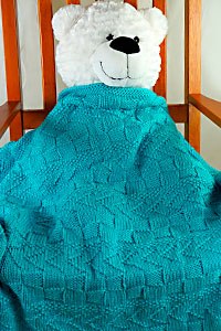 Cascade Yarns | Free Pacific Chunky Pattern C308 Textured Lap Throw Blanket