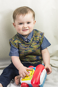 Cascade Yarns | Free Pacific Chunky Multis Pattern C319 Rookie Vest