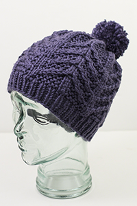 Cascade Yarns | Free Pacific Chunky Pattern C329 Aspen Grove Hat