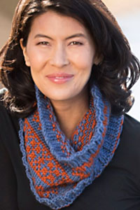 Cascade Yarns | Free Pacific Chunky Pattern C349 Easy Peasy Stranded Cowl