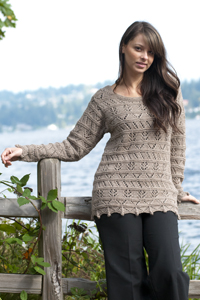 Cascade Yarns Knitted Pullovers Patterns