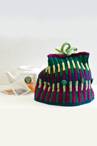 Cascade Yarns® Free 220 Superwash® Sport and 220 Superwash®  Pattern DK200 Fair Isle Tea Cozy