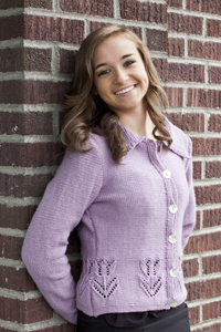 Knitted Hats Patterns Easy : Cascade Yarns  - Knitted Cardigan Patterns