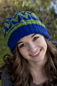 Cascade Yarns® Free 220 Superwash® Sport and 220 Superwash®  Pattern DK371 11+ 1Hat