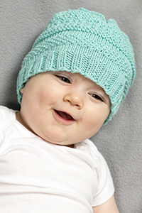 Cascade Yarns® Free Anchor Bay Pattern | DK381 Fascinating Rhytm (baby hat)