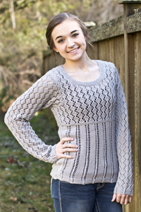Cascade Yarns® Free Anchor Bay Pattern | DK392 Jean Pullover (Sweater)