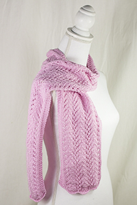 Cascade Yarns® Free Anchor Bay Pattern | DK397 Fountain of Hope (Scarf)
