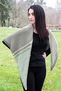 Cascade Yarns® Free Anchor Bay Pattern | DK455 River Reflections (Shawl)