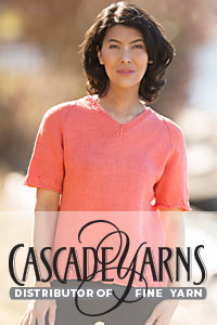 Cascade Yarns free Noble Cotton Pattern DK612 Madiera Tee