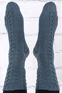 Cascade Yarns Heritage Paints Free Pattern FW02 B&B Socks