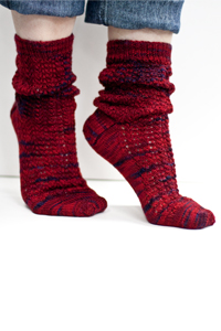 Cascade Yarns Heritage Paints Free Pattern FW111 Shannon's Socks