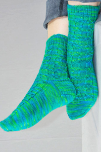 Cascade Yarns Heritage Paints Free Pattern FW137 Aryn Socks