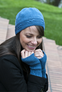 Cascade Yarns Heritage Free Pattern FW164 Seamless Hat and Mittens