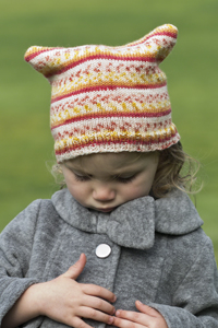 Cascade Yarns Heritage Prints Free Pattern FW217 In Your Own Sweet Way Hat
