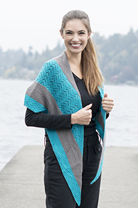 Cascade Yarns free knitting  pattern FW229 By the Sea