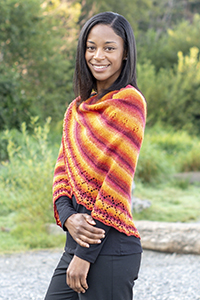 Cascade Yarns - Melilla Fingering yarn free pattern FW257 Flame Thrower