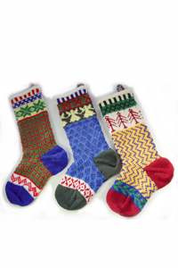 Cascade Yarns - Cascade 220® and Cascade 220® Heather Free Pattern - W104 Christmas Stockings