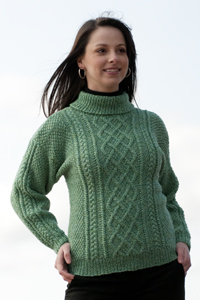 Cascade Yarns®  Free 220 Superwash®  pattern W210 Lattice Knit Sweater and Hat