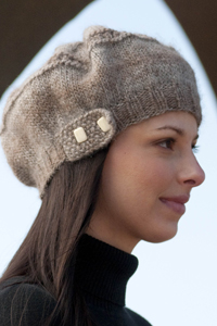 Cascade yarns knitted hats patterns slouch hat w262 dt1010fo
