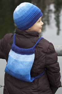 Cascade Yarns®  Free 220 Superwash®  pattern W275 Boy's Stuff Sack