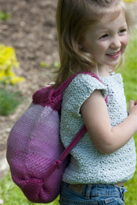 Cascade Yarns®  Free 220 Superwash®  pattern W276 Girls Stuff Sack