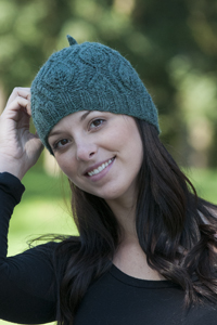 Cascade yarns knitted hats patterns leaf hat w290 dt1010fo