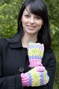 Cascade Yarns®  Free 220 Superwash®  pattern W337 Fair Isle Mittens
