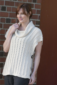 Knitted Hats Patterns Easy : Cascade Yarns  - Knitted Other Sweater Patterns