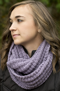 Cascade Yarns®  Free 220 Superwash®  pattern W603 Sage Bloom Scarf