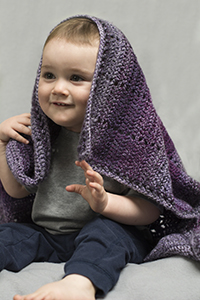 Cascade Yarns®  Free 220 Superwash®  Wave pattern W694 Bixby Blanket